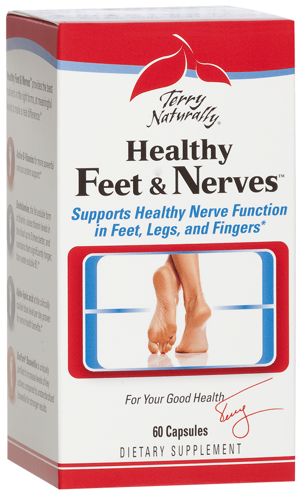 Healthy Feet Nerves 120 Capsules